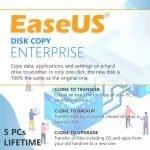 EaseUS Disk Copy Enterprise Product Key For 5 PCs, Lifetime Image