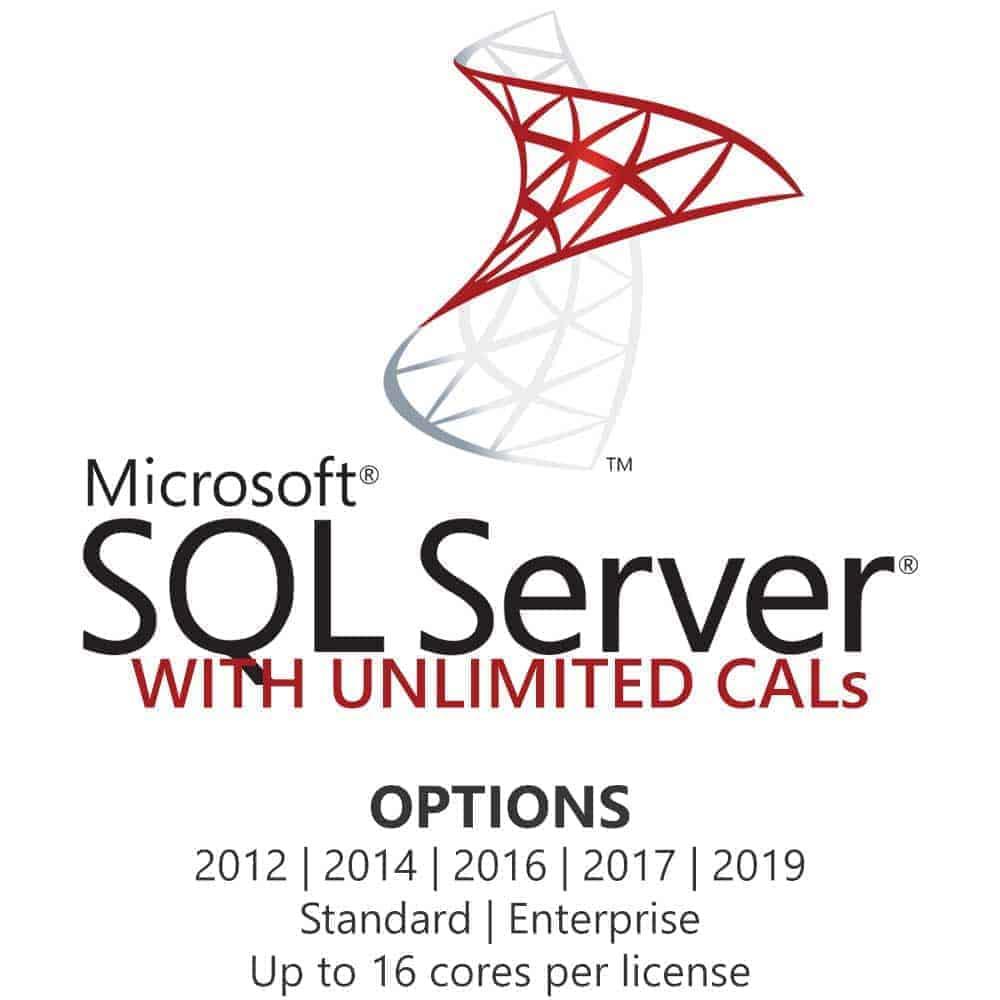 Microsoft SQL Server 2017 Standard Retail Genuine Key 2 Cores FAST DELIVERY