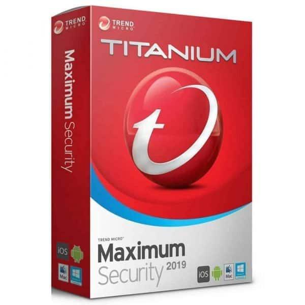 trend micro titanium maximum security 2019