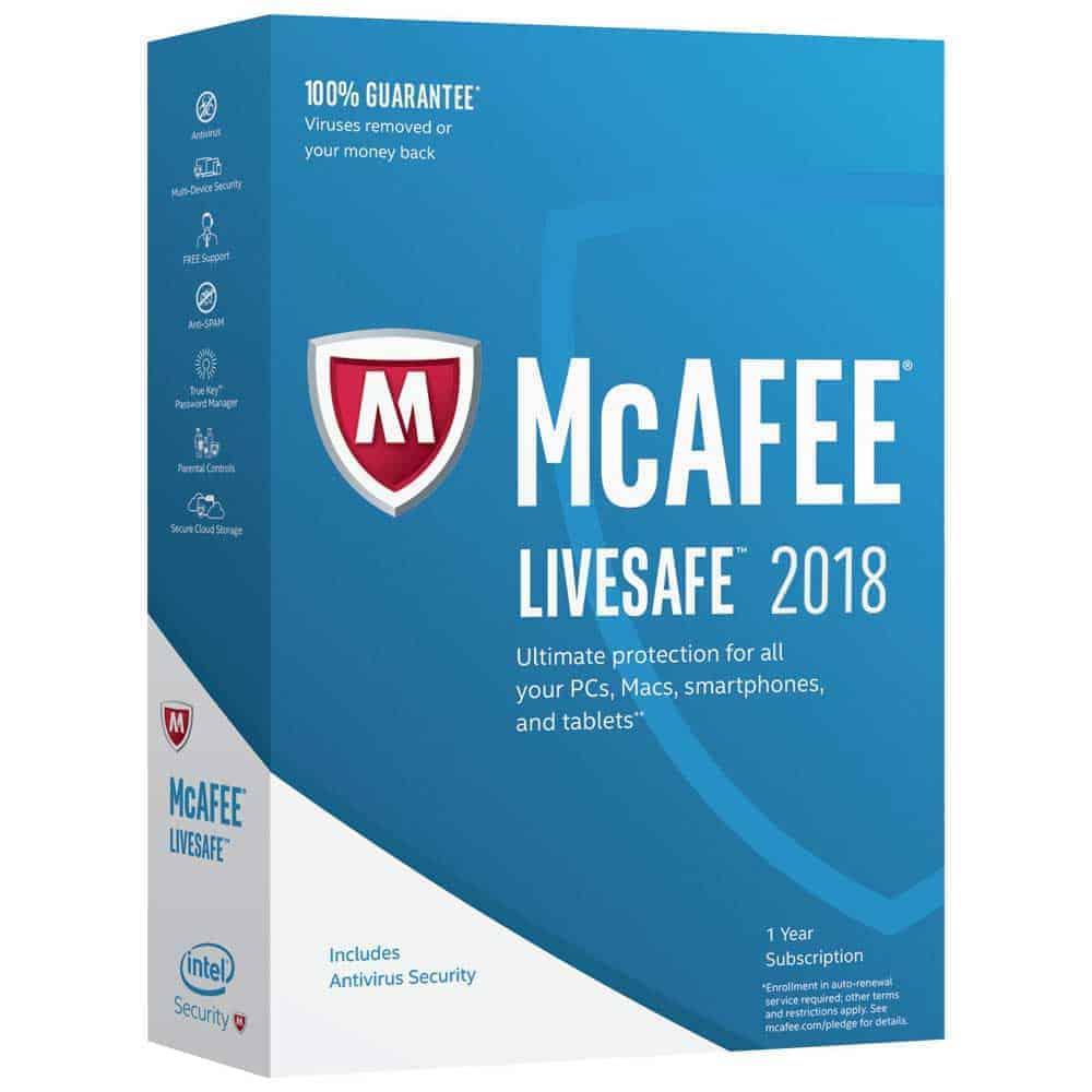 ключ подписки mcafee mobile security