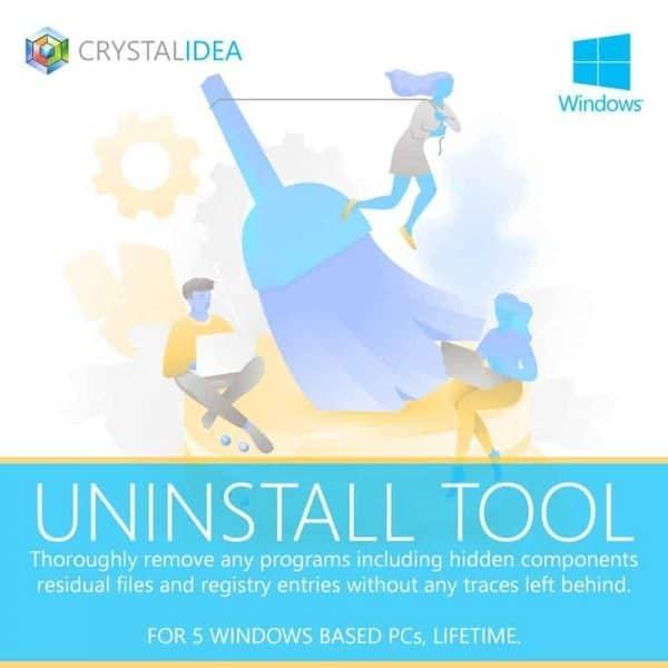 crystalidea uninstall tool